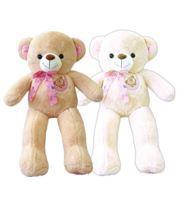"40"" teddy bear 2-astd clr 4s"