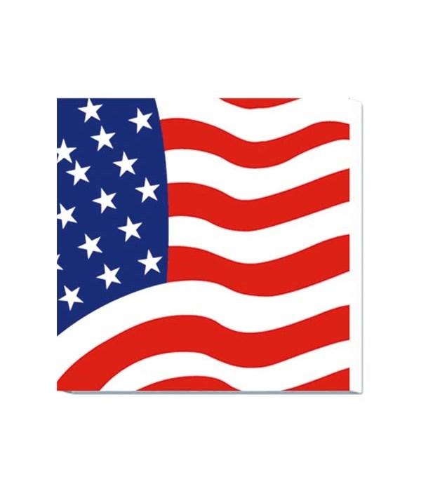 20ct/2ply napkin flag 48/144s
