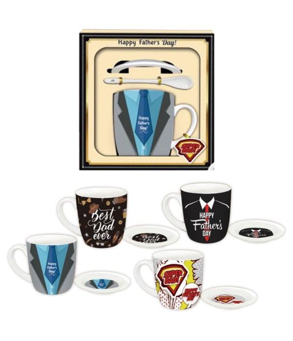 father's day mug set 24s