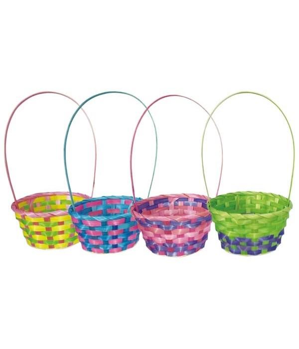 """round basket 9.5x4.5""""h/48s"""