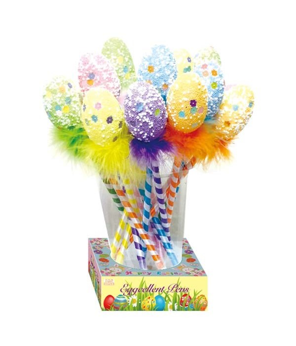 ball pen w/foam egg 24/192s