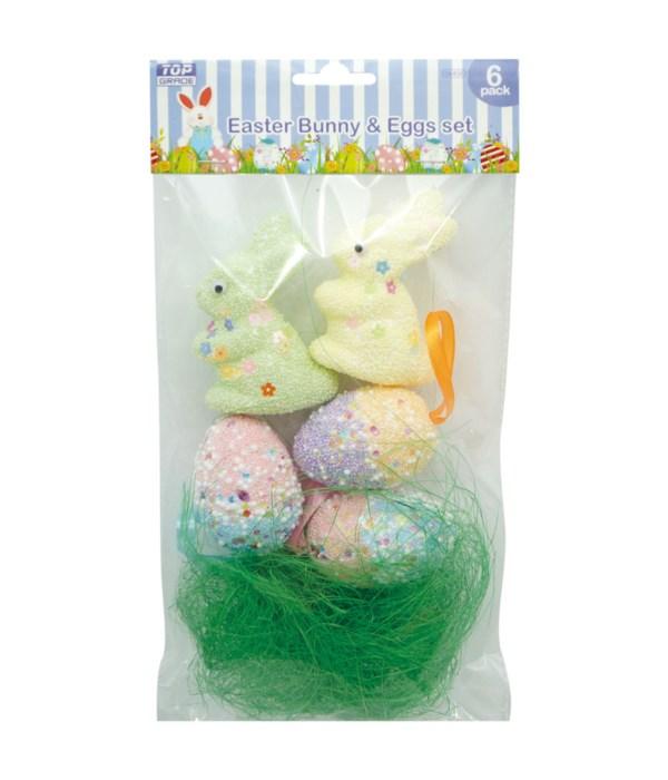 Foam bunny&Egg set 36s