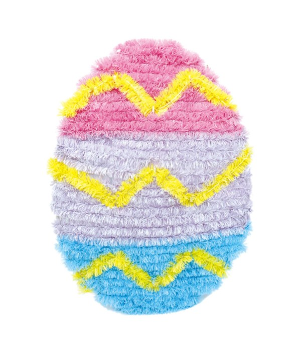 easter tinsel deco 48s