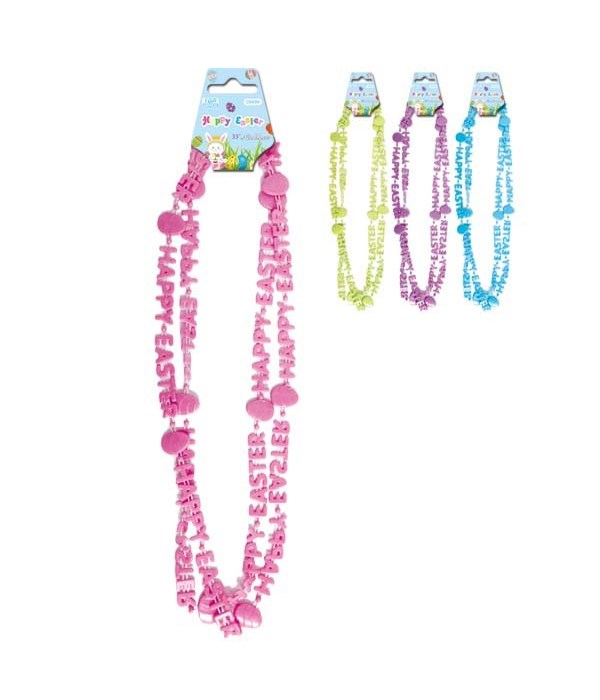"""33""""easter necklace 24/144s"""