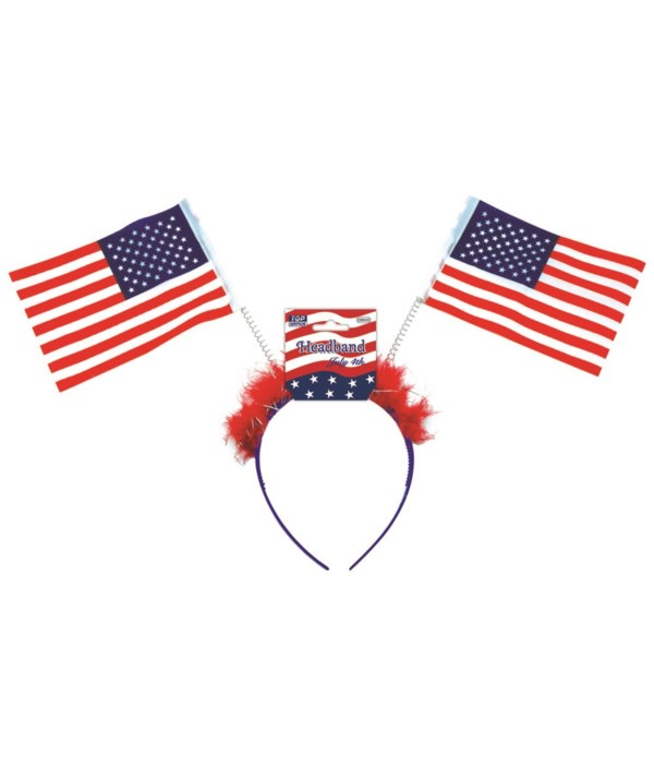 headband/american flag 48s