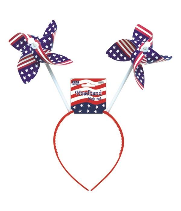 July 4th headband windmill 48s