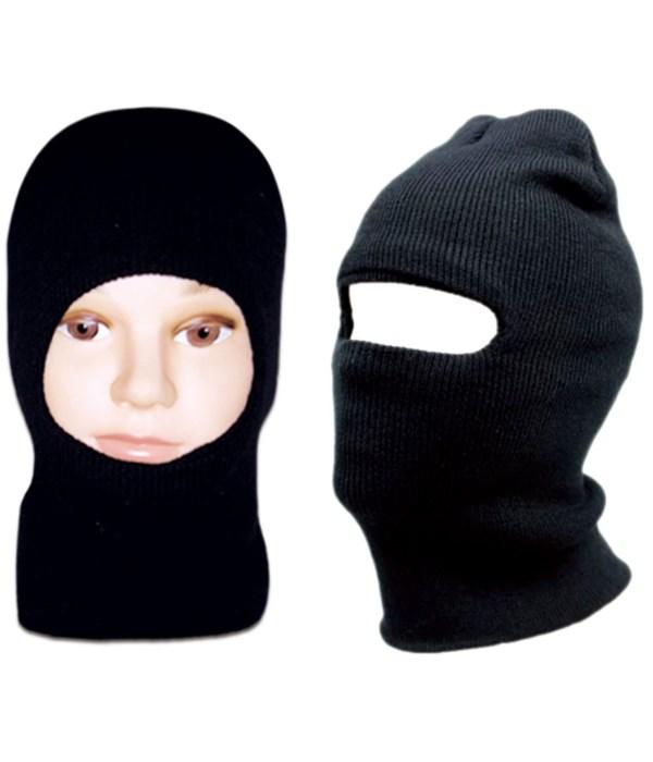 men's knit hat blk 12/144s