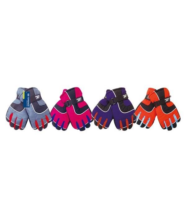 lady's ski gloves 24s