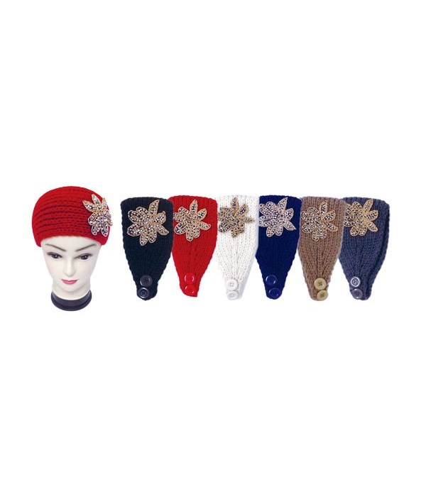 knit head band 12/144s