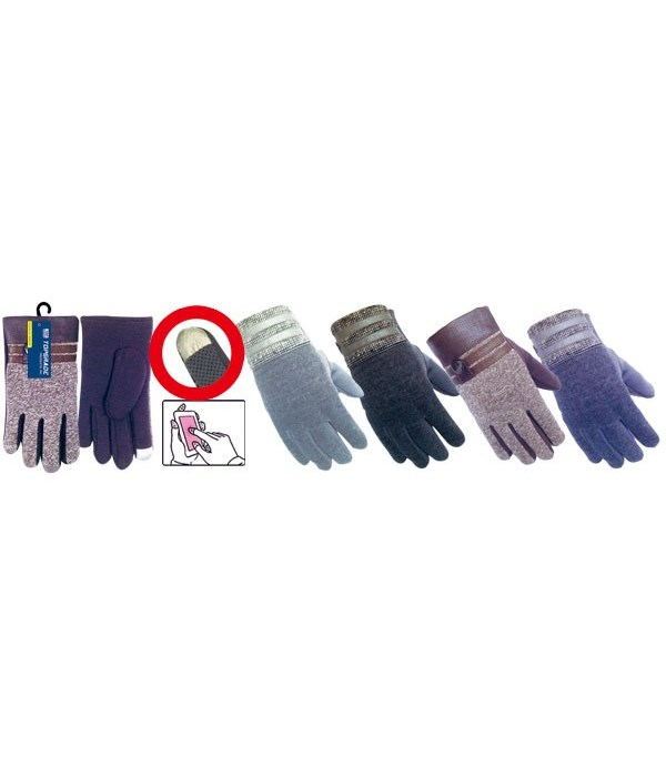 men's touch gloves 12/72's