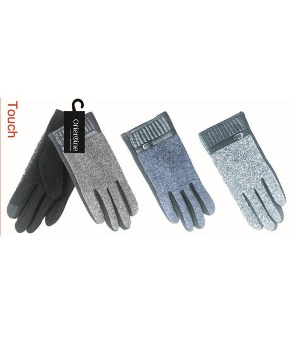 men's touch glove 12/72s