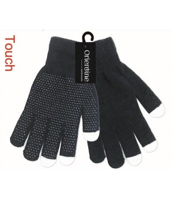 touch gloves/blk 12/144s