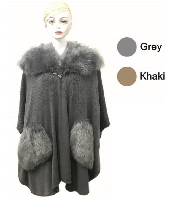 lady's cloak gry&khak 6/24s