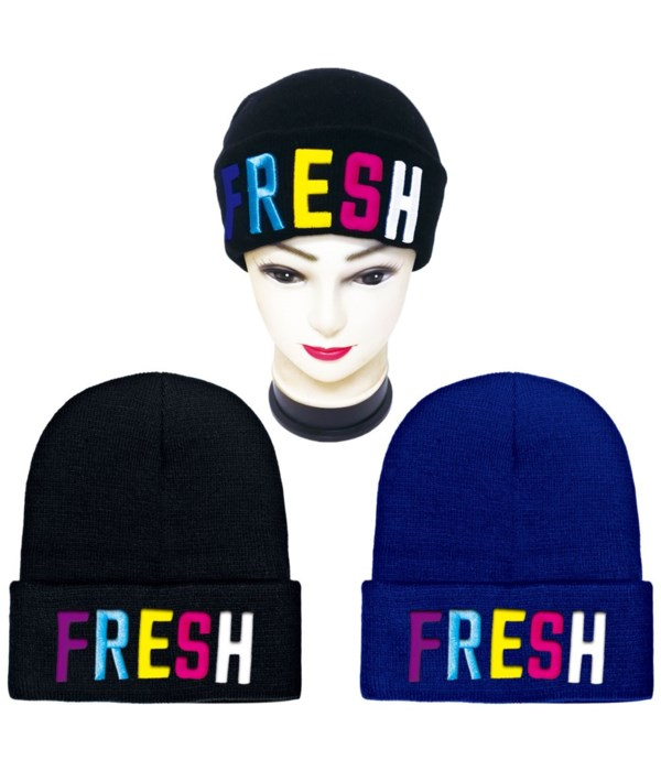 hat FRESH embroidery 12/72s