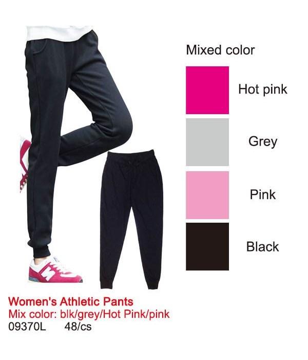 lady's athletic pants/L 12/48s