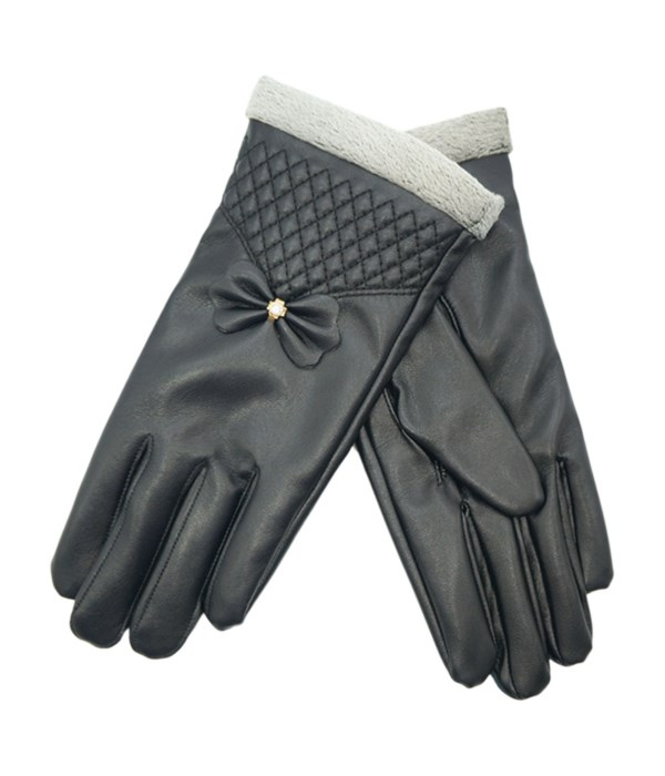 lady's lether touch gloves