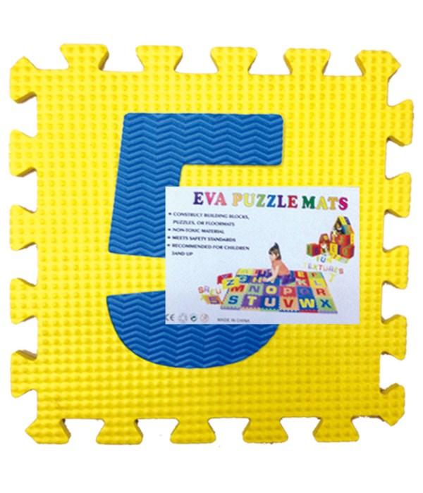 """10pc eva puzzle mat 12x12""""/12s"""