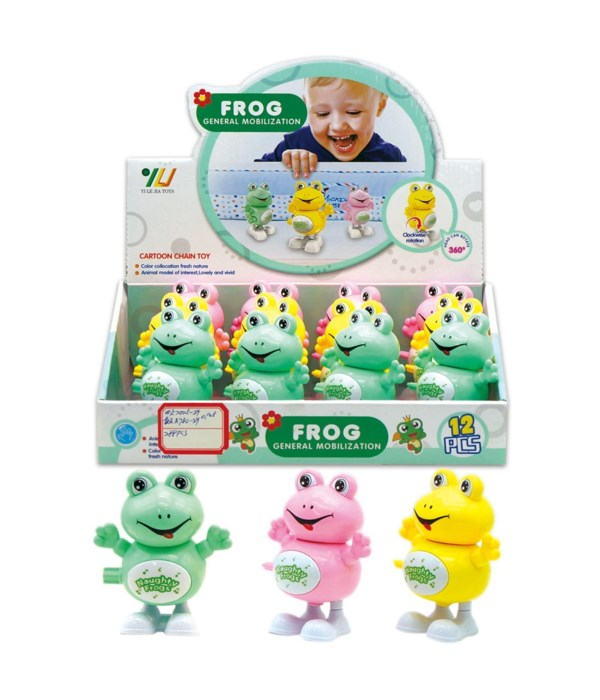 top toy frog 12/144s