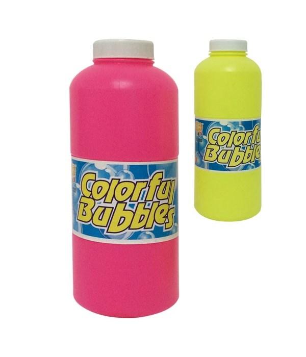 colorful bubbles 16oz/24s