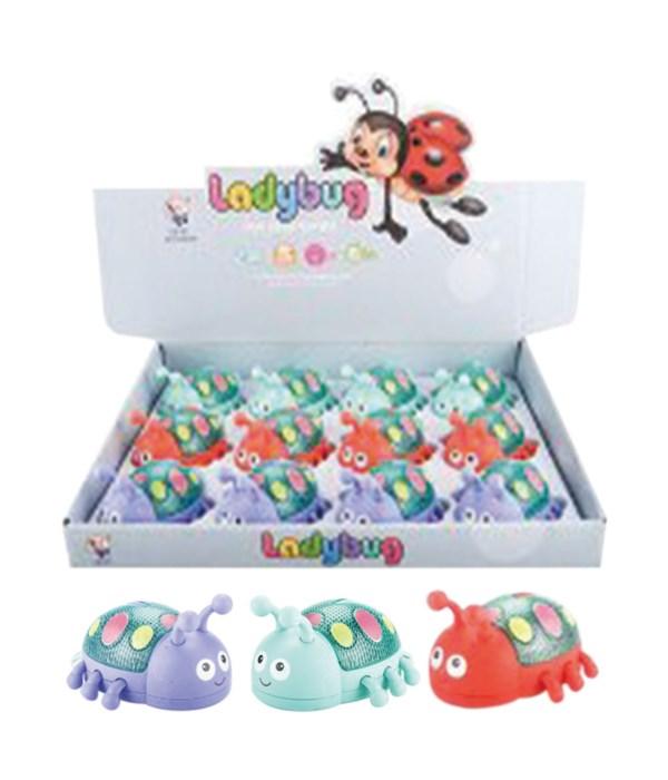 toy lady bug w/LED 12/144s