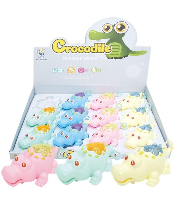 toy crocdile w/LED 12/144s