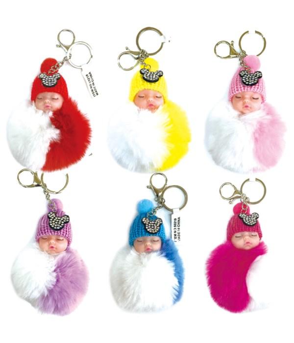 key chain baby doll 12/600s