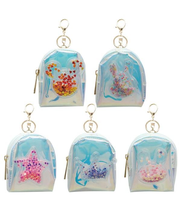 coin purse w/key chain 12/600s