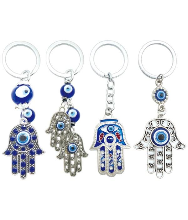 key chain evil eye 12/600s