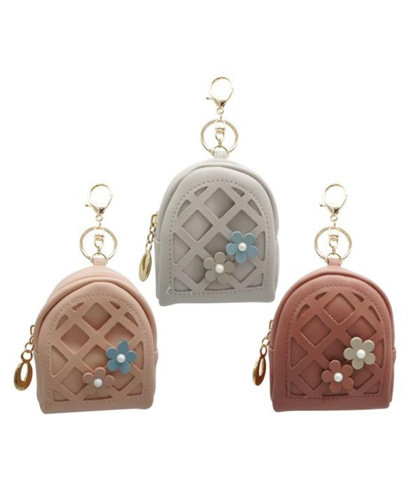 key chain bag flower 12/600s