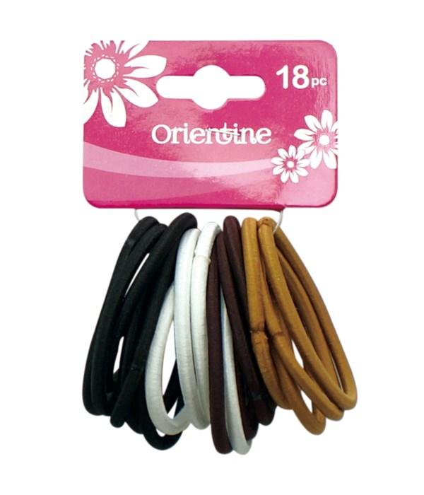 18ps elastic hair ties 12/300s