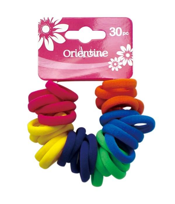30ps elastic hair ties 12/300s