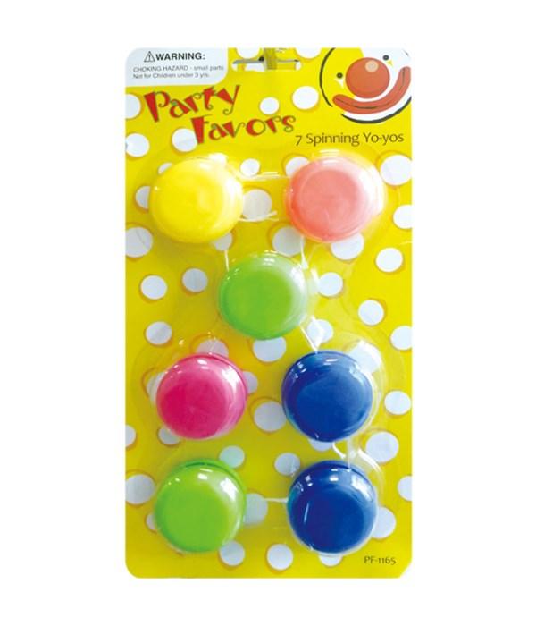 7ct spinning yo-yos 24/144s