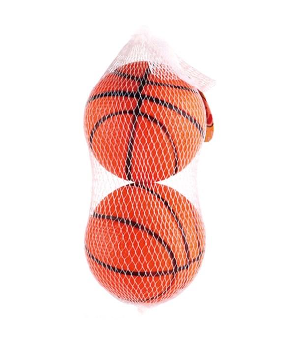 """2ct/2.5"""" pu basket ball 24/144"""