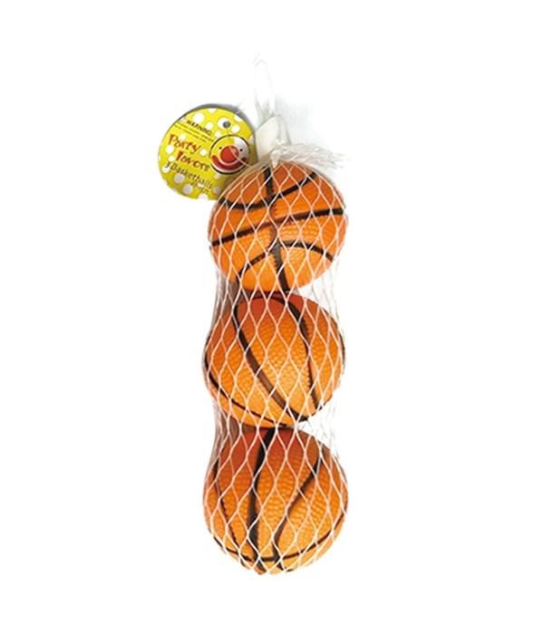 "3ct/2"" pu basketball 24/144s"