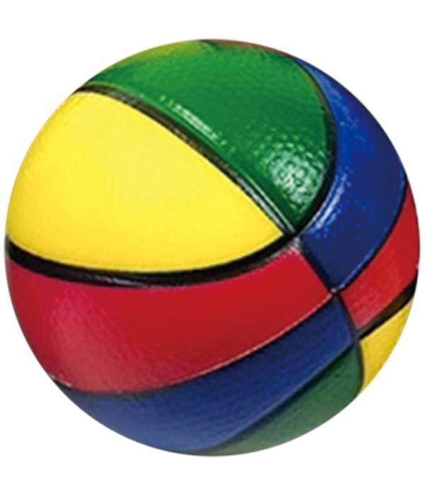 "4""/1ct colorful pu ball 24/144"