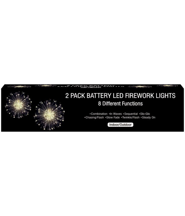 firework starbust light 12s