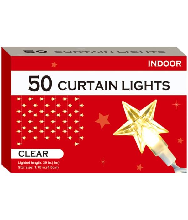 50-star curtain light 12s