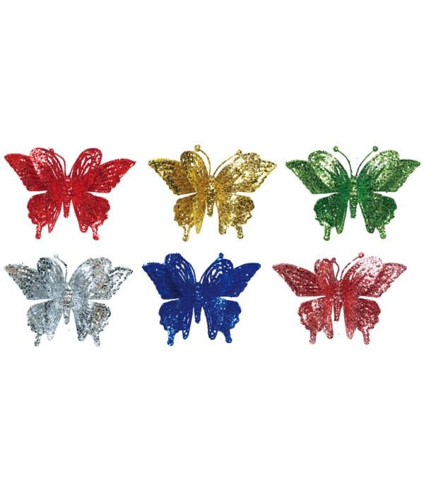 """6"""" butterfly astd clr 48/576s"""