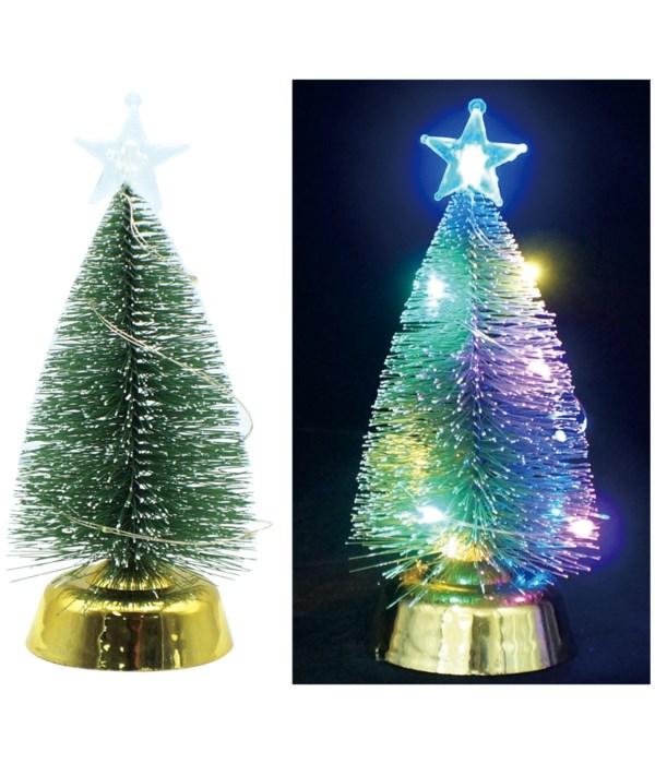 """xmas LED tree 7.5x2.5"""" 12/192s"""