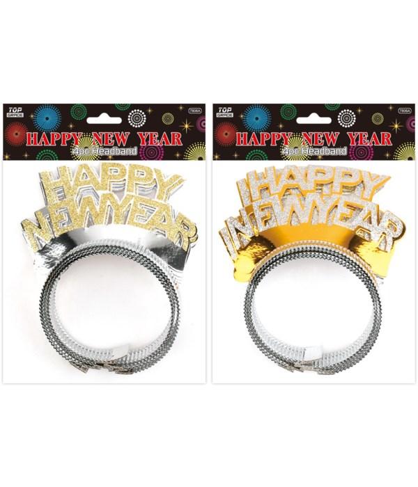 3pc new year headband 48s