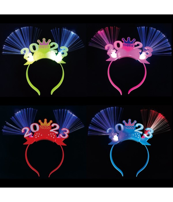 new year headband w/flash 48s