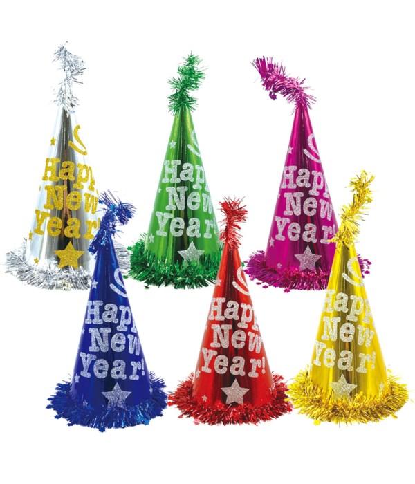 new year hat astd clr 72s