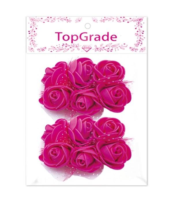 deco.foam rose hot pink 12/360