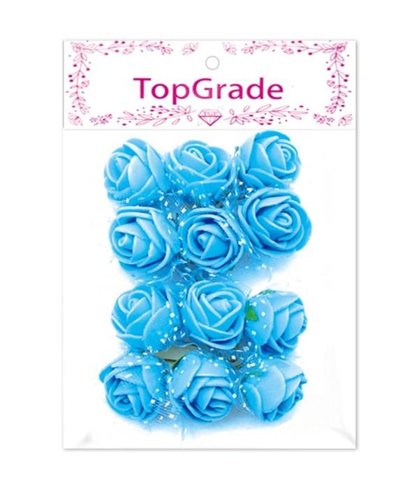 deco.foam rose bb-blue 12/360s