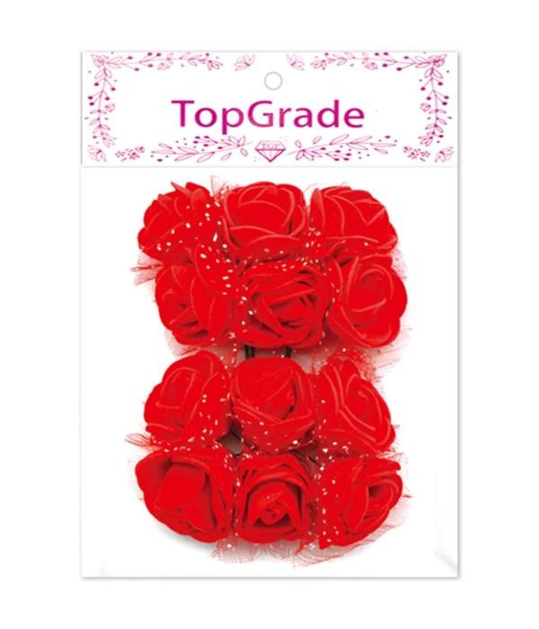 deco.foam rose red 12/360s