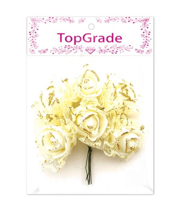 deco.foam rose beige 12/600s