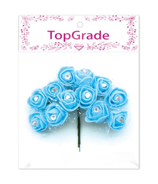 deco.foam rose bb-blue 12/600s