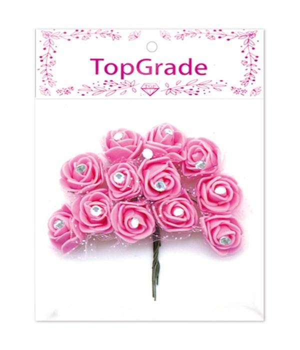 deco.foam rose bb-pink 12/600s