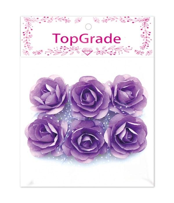 deco.foam rose purple 12/600s