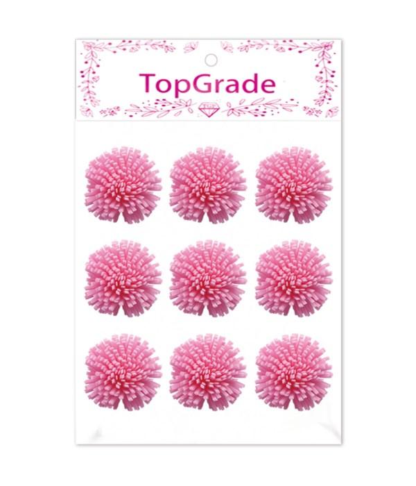 foam flower pink 12/288s